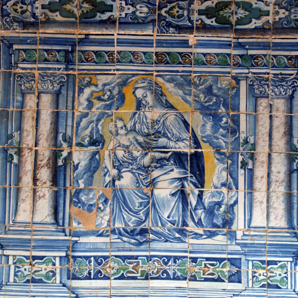 Cuadro Original Del Siglo XVII Situado En El Santuario De Ntra. Sra. De Peñitas En Oropesa (Toledo)